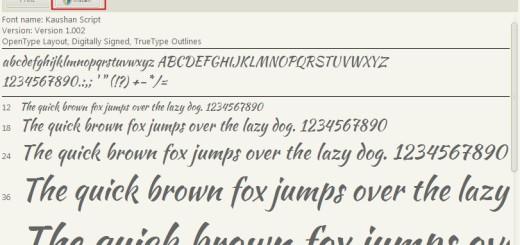 Kako da koristite Google Web fontove na svom računaru ?