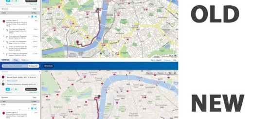 Nokia mape i Bing mape ujedinjuju dizajn