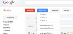Zakažite slanje emailova u gmailu