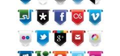 45 prelepih ikonica za društvene mreže !
