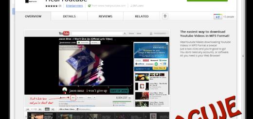 "Konvertujte Youtube video u Mp3 audio – ""HearYoutube"""
