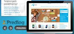 Telenor redizajnira sajt, traži od vas da glasate između 4 predloga