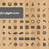 350 besplatnih vektorskih ikonica za dizajnere