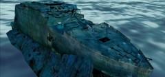 3D olupina Titanika u Google Earth-u