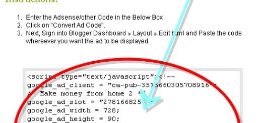 Dodajte Adsense oglase na Blogger post uz pomoć AD Code Converter-a