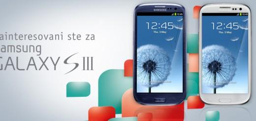 Rezervišite Galaxy S3 u MTS-u !