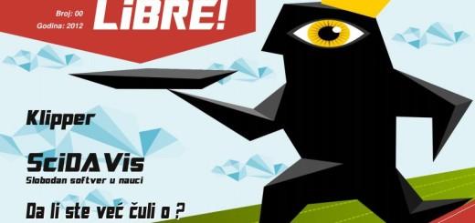 Besplatan Linux časopis LiBRE! dostupan za preuzimanje