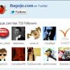 Kako da dodate spisak Twitter pratilaca na svoj Blogger blog ?