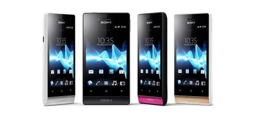 Sony predstavio 4 nova Android telefona: Miro, Ion, Tipo i Tipo dual