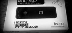 Testirali smo: Telenor modem 42 – mobilni Internet