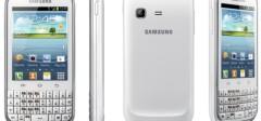 Samsung predstavio Galaxy Chat, Qwerty tastatura i Android 4