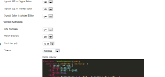 Synchi WP plugin – IDE unutar WordPress