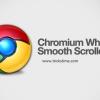Tečno skrolovanje na Google Chrome pretraživaču