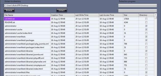 Program za otvaranje fajlova različitih ekstenzija