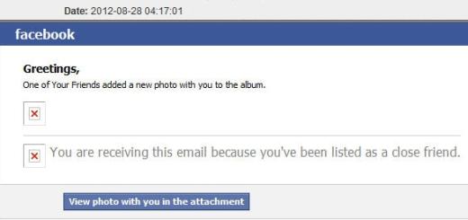UPOZORENJE: Facebook lažno mail obavještenje o fotografiji na kojoj se nalazite ustvari je Trojanac
