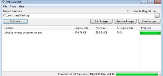 Kako da smanjite veličinu fajla PNG slikama?