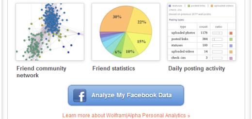 Analizirajte svoje Facebook podatke uz pomoć Wolfram|Alpha