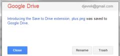 Google Drive ekstenzija za Google Chrome
