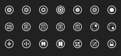 210+ Metro UI Windows 8 ikonica za dizajnere