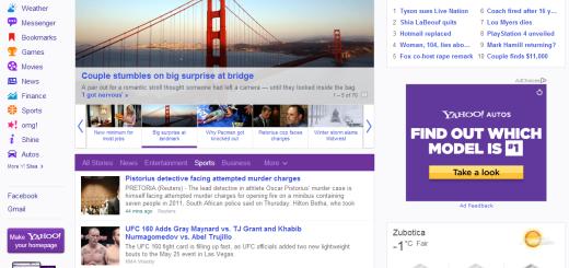Yahoo redizajniran !