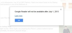 Google gasi Google Reader :(