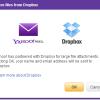 Yahoo mail i Dropbox se udružili