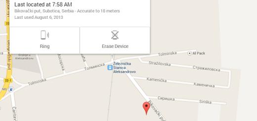 Google napravio servis za praćenje mobilnog telefona (samo Android)