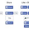 Facebook redizajnirao like i share dugmiće