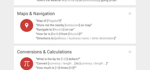 Šta sve možete reći Google Now i dobiti odgovor ?