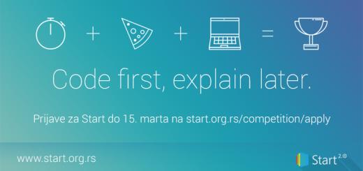 Takmičenje u programiranju Start 2.0