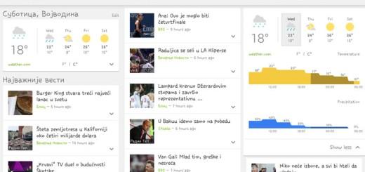 Google osvežio aplikaciju Vesti i vreme nakon 2 godine !