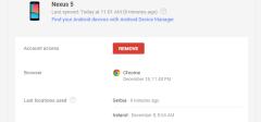 Koji su sve uređaji povezani na vaš Google nalog ?