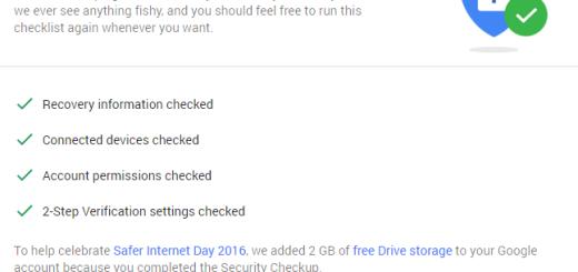 Google opet nudi 2GB slobodnog prostora ukoliko popunite sigurnosne provere